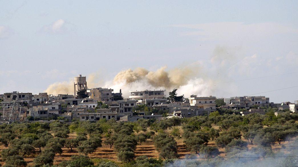 Un incendio en un hospital del norte de Siria deja al menos 24 muertos
