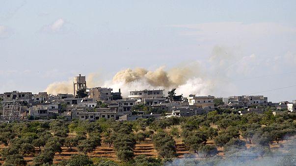 Des enfants meurent dans l'incendie d'un dispensaire en Syrie