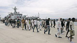ایتالیا؛ نجات بیش از پنج هزار پناهجو از دریای مدیترانه در ظرف دو روز