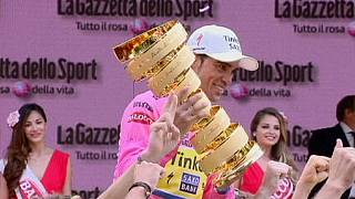 Alberto Contador vence Giro pela segunda vez
