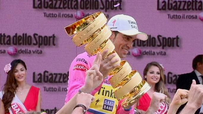 Contador clinches second Giro d'Italia title