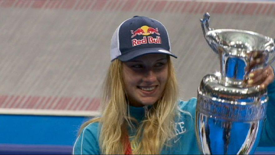Olga Kharlan gana el Gran Premio de sable