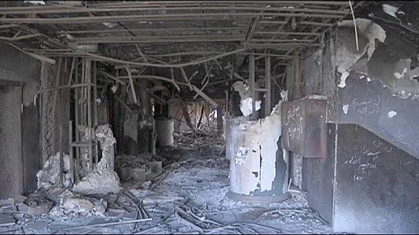 تخریب مقر حزب حسنی مبارک آغاز شد