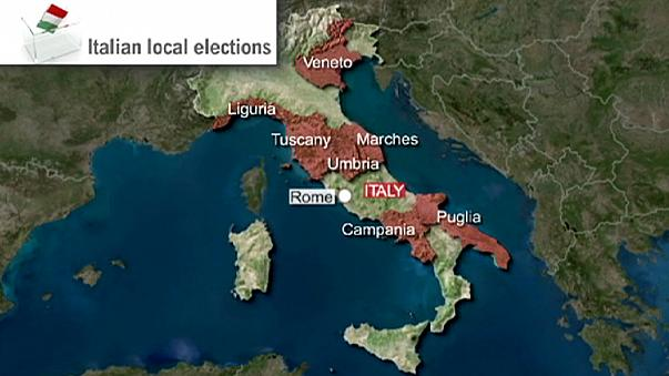PM Renzi 's Democratic Party remains top in Italian local poll