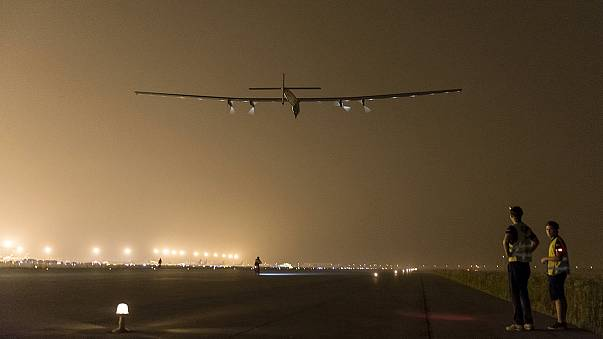 Japon : de mauvaises conditions météo obligent Solar Impulse 2 à atterrir