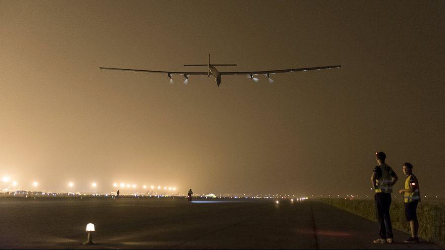 Solar Impulse'un Pasifik yolculuğuna fırtına engeli