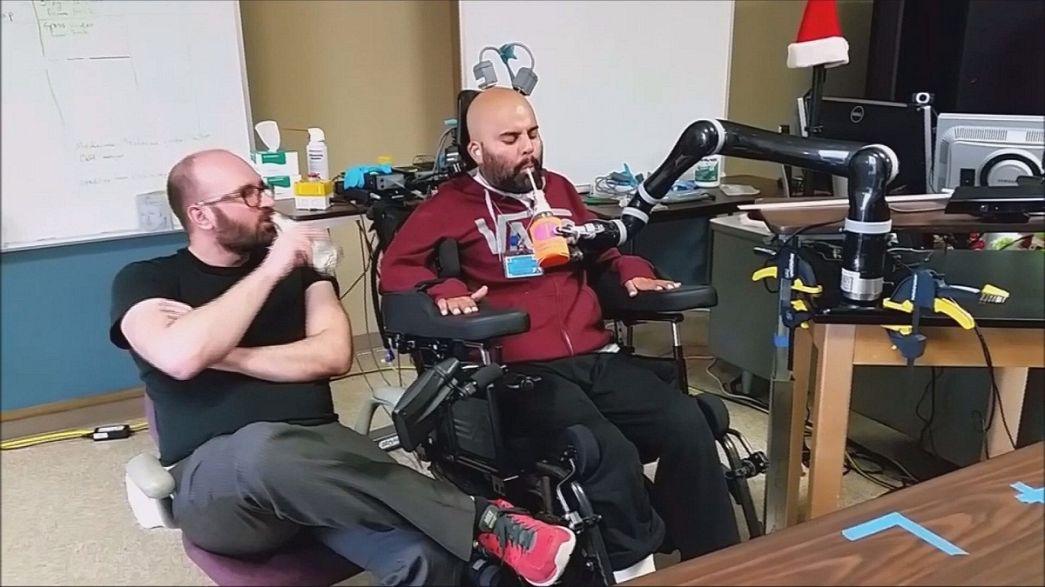 Mind-controlled prosthetics make great strides