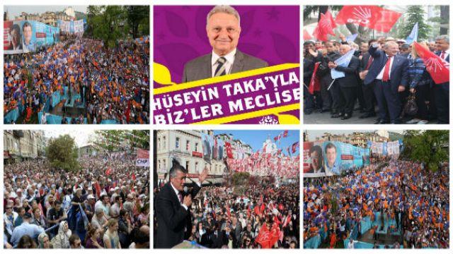 7 Haziran'a doğru Trabzon: Herkes yine herkesten iddialı
