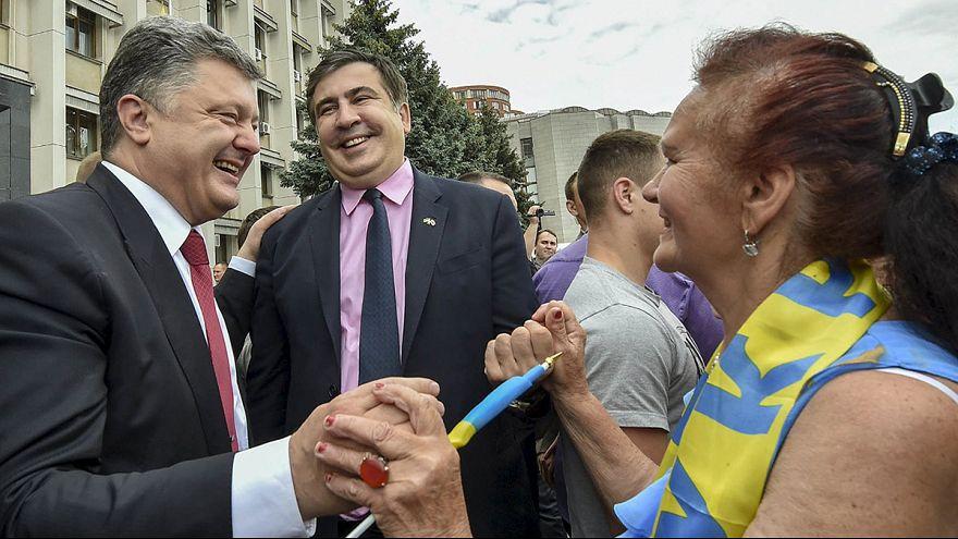 Ucrânia-Geórgia: Nomeação de Saakachvili é um insulto para Tbilissi
