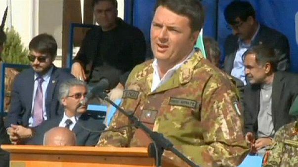 İtalya Başbakanı Renzi'den Afganistan'a sürpriz ziyaret