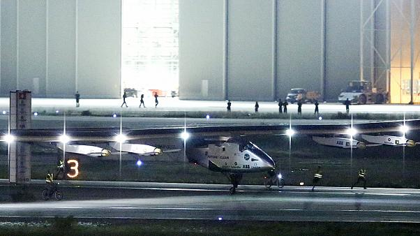 Escale imprévue pour l'avion solaire Solar Impulse 2 au Japon, faute de soleil suffisant