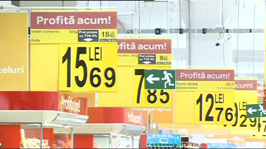 La Romania taglia l'Iva sui prodotti alimentari: dal 24 al 9%