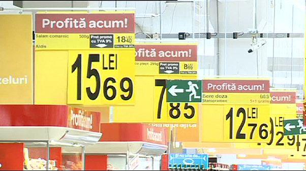 Romániában 9 százalékosra csökkent az élelmiszerek áfakulcsa