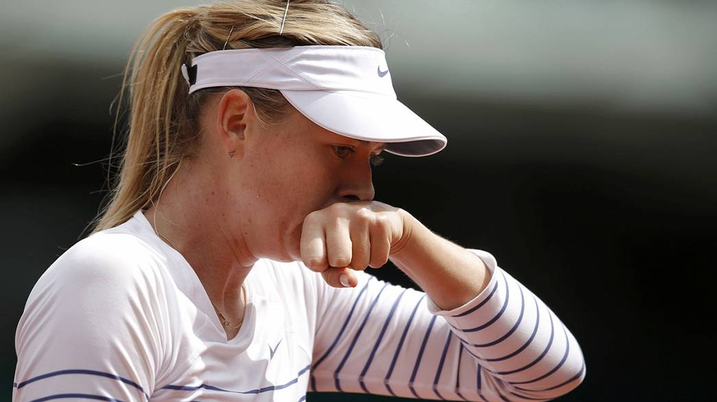 French Open: Das Aus für Maria Scharapowa