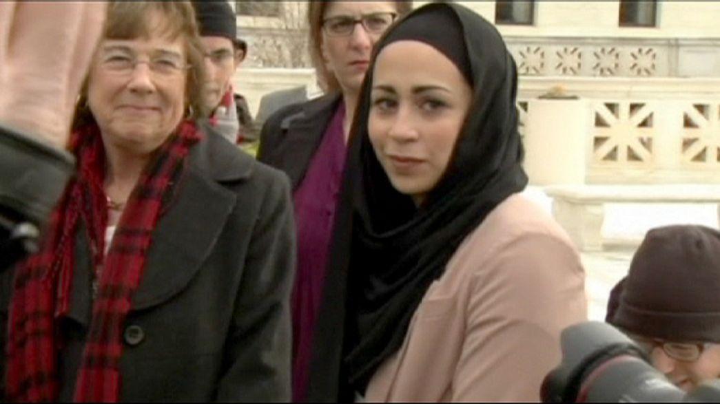 EEUU: una joven musulmana gana en el Supremo una demanda por discriminación