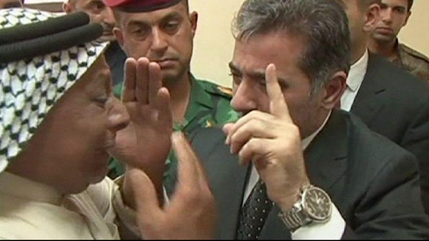 تشييع جثامين العشرات من عناصر الشرطة العراقية