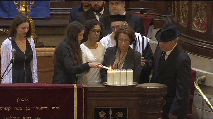 В Брюсселе почтили жертв теракта в Еврейском музее