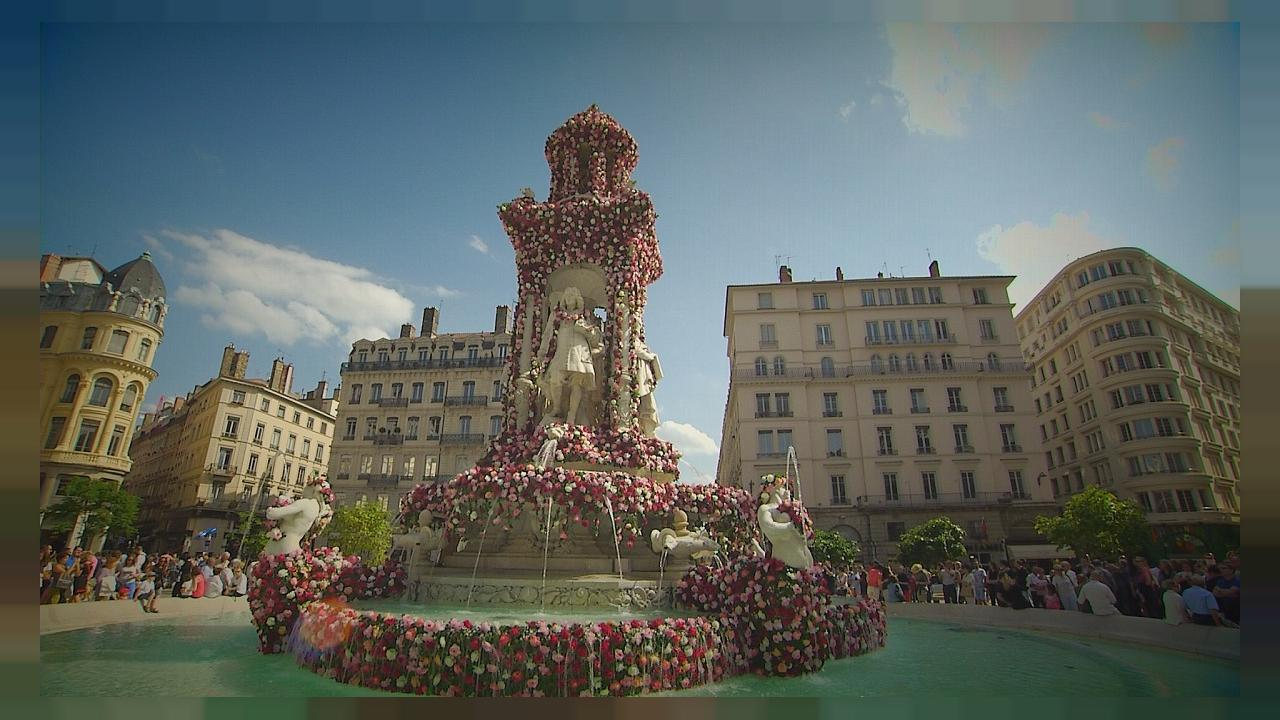 Festival of Roses in Lyon amazes crowds