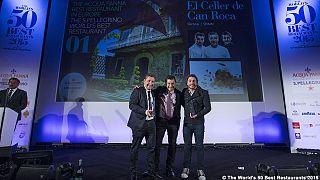 El Celler de Can Roca, de Girona, recupera la corona como mejor restaurante del mundo