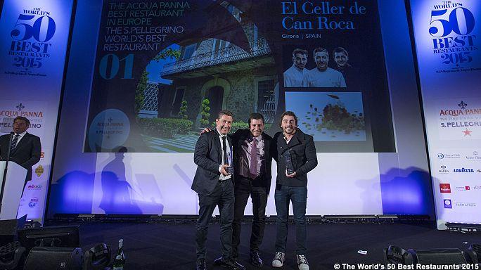 Spain tops world's 50 best restaurants