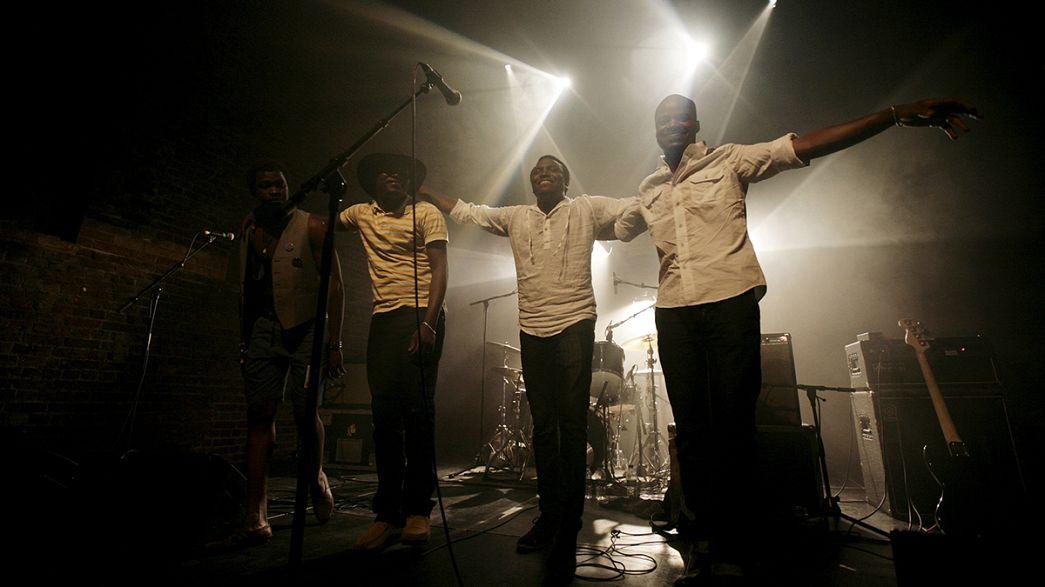 """""""Music in Exile"""", el primer disco de la banda malí Songhoy Blues"""