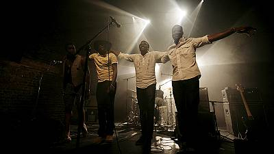 Songhoy Blues play Music in Exile