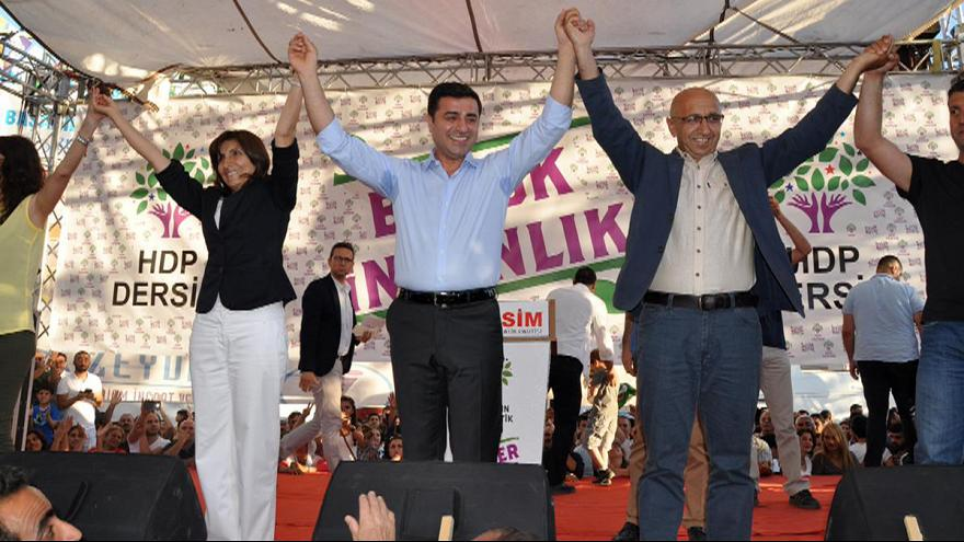 Turkey's Kurdish HDP needs ten percent of votes or won't have a voice