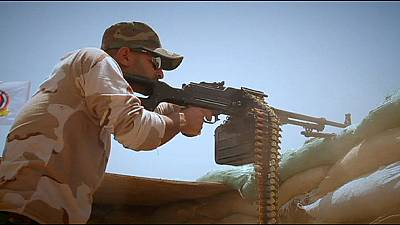 Abadi pide en París más ayuda para detener el avance del grupo Estado Islámico en Irak