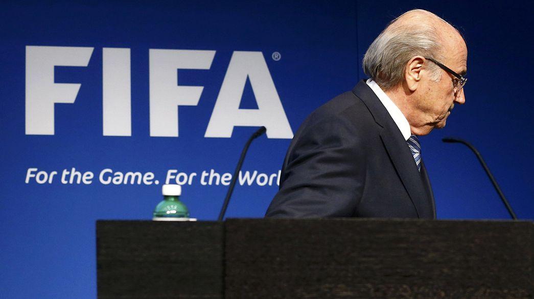 Le président de la FIFA Sepp Blatter lâche l'affaire !