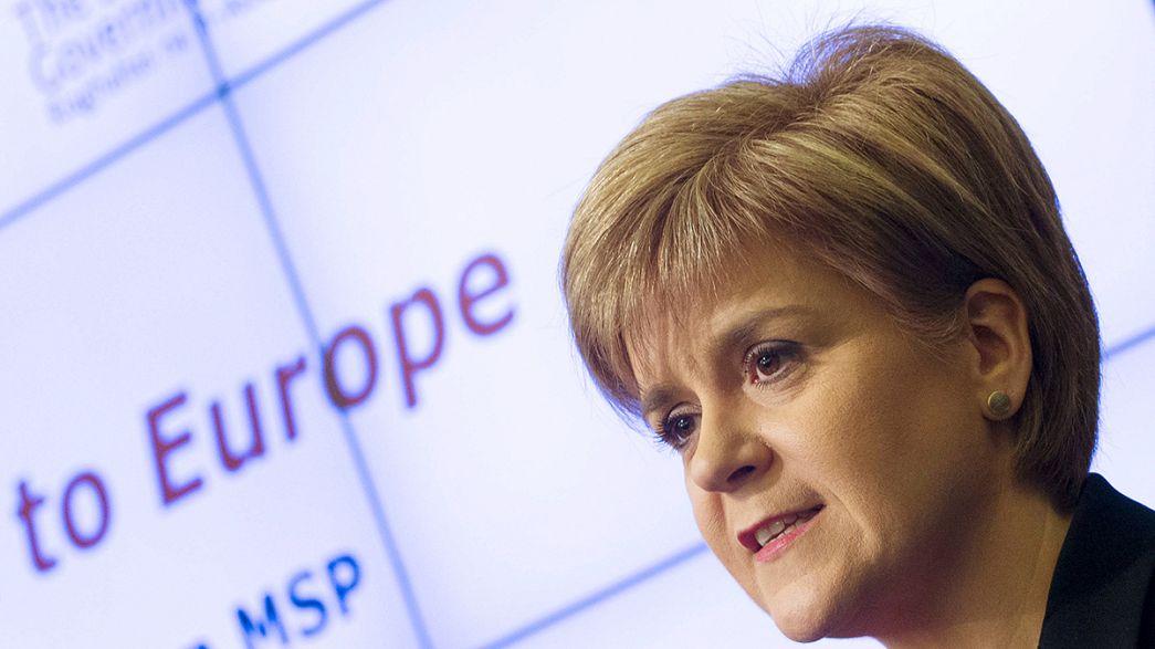 Sturgeon: saída do Reino Unido da UE poderá desencadear novo referendo escocês