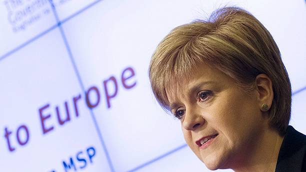 Scotland's Sturgeon raises prospect of second independence referendum if UK quits EU