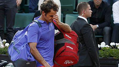 Roger Federer eliminado en cuartos de Roland Garros