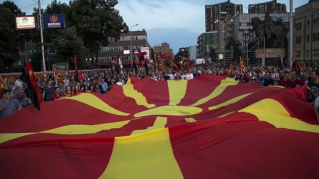 Досрочные выборы в Македонии