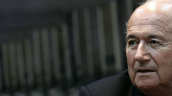 Blatter...with resignations timing is everything