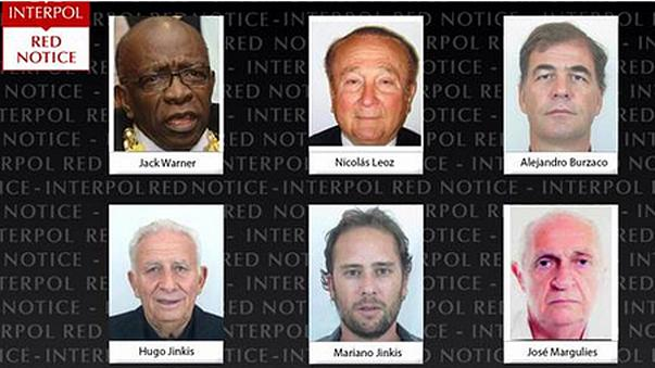 Interpol issues 'red notice' for accused ex-FIFA bosses