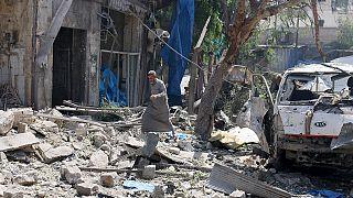 Se intensifican los combates entre el grupo Estado Islámico y el ejérito sirio