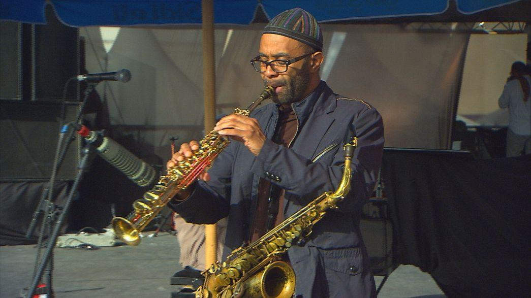 Kenny Garrett fellépése az essaouirai Gnaua Zenei Fesztiválon