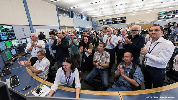 Large Hadron Collider smashes energy record