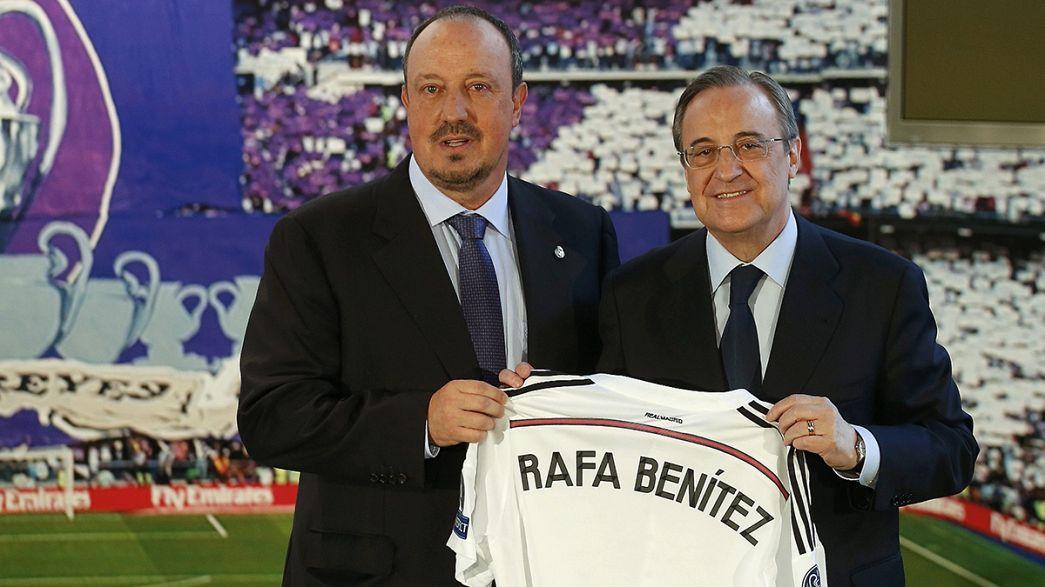 """Real Madrid apresenta Rafael Benítez como """"chefe"""" de Cristiano Ronaldo"""
