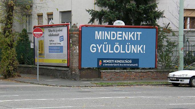 """""""Mindenkit gyűlölünk"""" - viccet csináltak a magyar kormány kampányából"""
