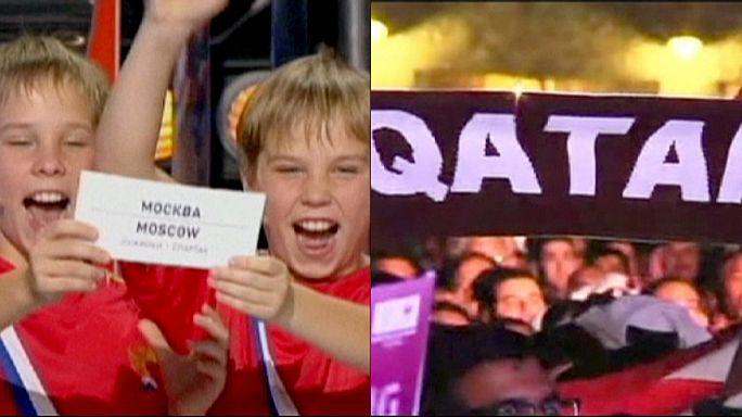 Sous le feu des critiques, la Russie et le Qatar défendent leurs Coupes du Monde