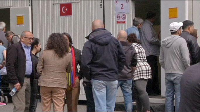 A külföldön élő törökök előre leadták szavazataikat