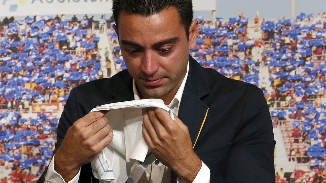 Barca verabschiedet Xavi Hernández