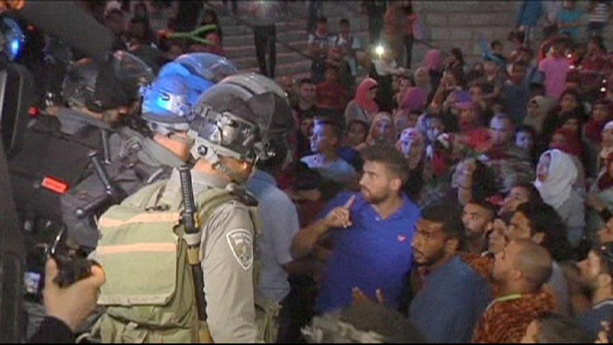 """""""Festival das Luzes"""" começa com confrontos entre palestinianos e polícia israelita"""