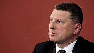 رئيس جديد في لاتفيا