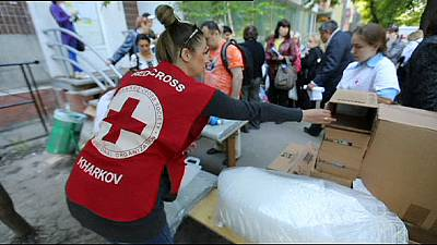 Ukraine conflict pushed Red Cross to its limit