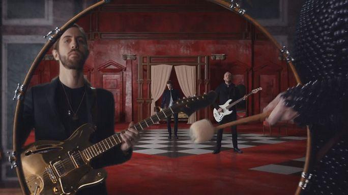 """""""Imagine Dragons"""" en tournée pour leur deuxième album"""