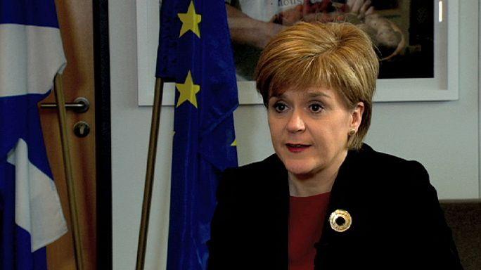 """Nicola Sturgeon : """"L'Ecosse devrait être un membre à part entière de l'Union européenne"""""""