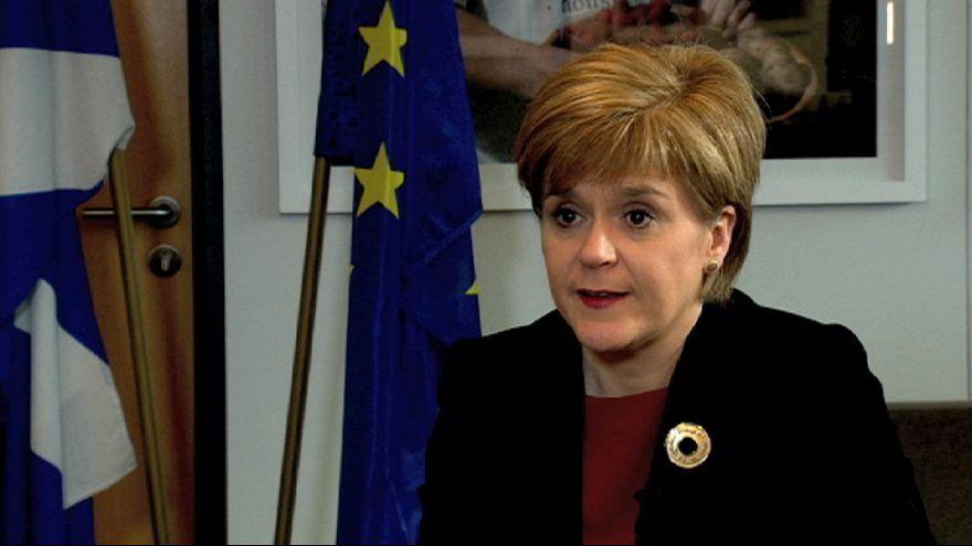 """Nicola Sturgeon: """"Edimburgo busca más participación en la UE"""""""