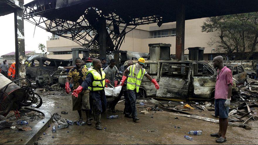 Ghana : explosion d'une station-essence, près de 100 morts